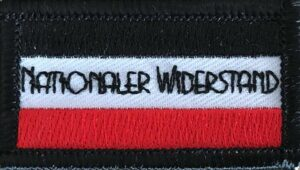 Nationaler Widerstand - Black / White / Red - Patch